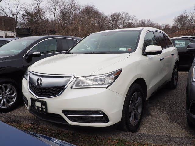 Certified Pre-Owned 2016 Acura MDX SH-AWD
